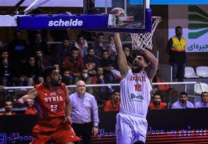 برتری قاطع بسکتبال ایران مقابل قطر