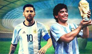 فیلم/ شباهت گلهای مارادونا و مسی در دنیای فوتبال
