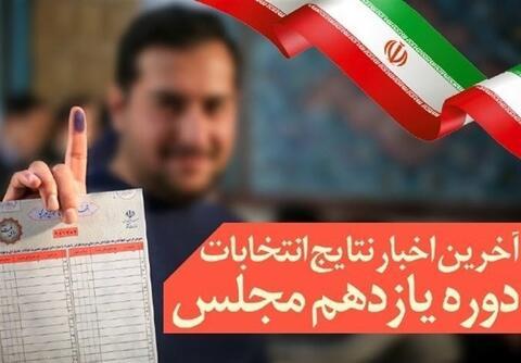 فیلم/ نمایندگان تهران مشخص شدند