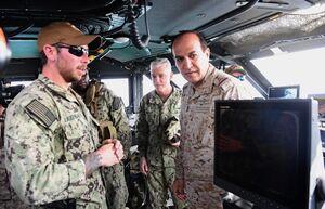 رزمایش دریایی عربستان و آمریکا در «خلیج فارس»