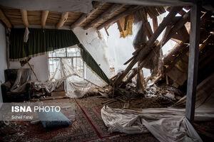 تصاویر جدید از خسارات زمین لرزه خوی