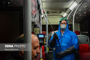 عکس/ شستشوی ناوگان اتوبوسرانی آذربایجان شرقی