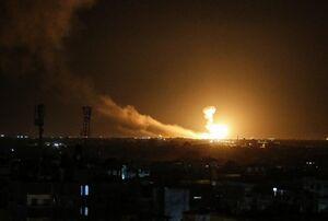 فیلم/ بمباران اخیر غزه توسط جنگندههای رژیم صهیونیستی