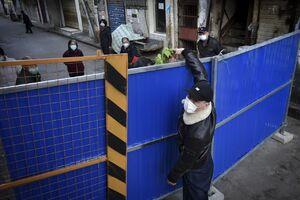 منطقه قرنطینه شده چین