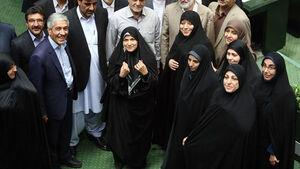 ۱۷+۱ زن راه یافته به هرم سبز بهارستان/آیا مجلس رکورد جدید میزند؟