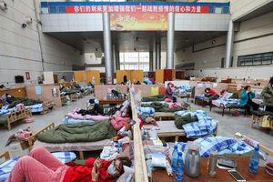 عکس/ زندگی در منطقه قرنطینه شده را ببینید