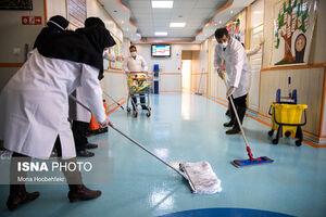 عکس/ ضدعفونی کردن مدارس تهران