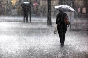 بارندگی باران بارش