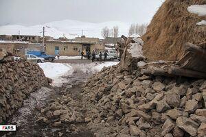 عکس/ خسارات زلزله آذربایجانغربی