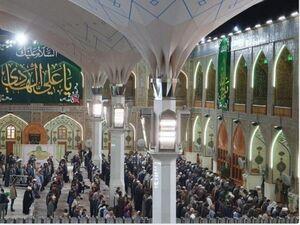 عکس/ درهای ورودی حرم امام علی بسته شد
