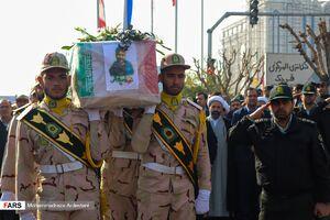 عکس/ تشییع پیکر شهید امنیت در قرچک
