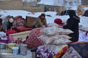 عکس/ زندگی در مناطق زلزلهزده خوی