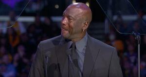 عکس/ اشکهای اسطوره NBA به یاد برایانت