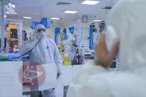 عکس/ بخش مراقبتهای ویژه کرونا در بیمارستان مسیح دانشوری