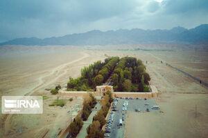 عکس/ نگینی در دل کویر کرمان