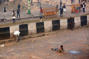عکس/ حاشیه های خونین سفر ترامپ به هند