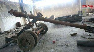 فیلم/ زاغه مهمات تروریستها در منطقه باستانی ادلب!
