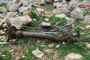 کشف انبار مهمات تروریستها در حومه حلب+عکس