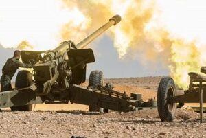 توپخانه ارتش سوریه کاروان نظامی ترکیه را گلوله باران کرد