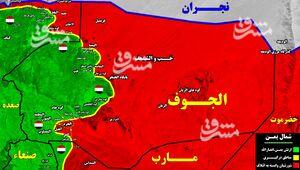 آخرین تحولات میدانی شمال یمن/ پیشروی طوفانی رزمندگان یمنی در شمال غرب و جنوب غرب بخش الجوف + نقشه میدانی و عکس
