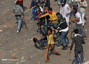 عکس/ ادامه اعتراضات در دهلی هند