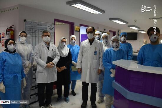 فیلم/ قدردانی رهبر انقلاب از خط شکنان مقابله با ویروس کرونا