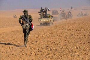 کشف انبار تسلیحاتی «داعش» در عملیات نیروهای «حشد شعبی»