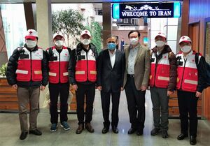 عکس/ تیم متخصصان پزشکی چین در ایران