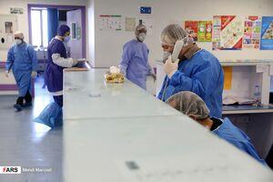 عکس/ بخش ویژه «بیماران کرونا» بیمارستان فرقانی قم