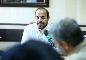 دکتر علیرضا جلالی رئیس دانشگاه علوم پزشکی بقیه الله(عج)