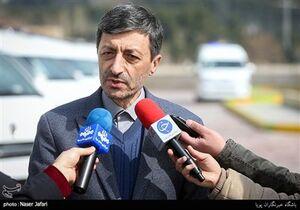 پرویز فتاح رئیس بنیاد مستضعفان در مراسم واگذاری 24 دستگاه آمبولانس به ستاد مبارزه با ویروس کرونا