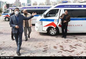 عکس/ آمبولانسهای اهدایی بنیاد مستضعفان به ستاد مبارزه با ویروس کرونا