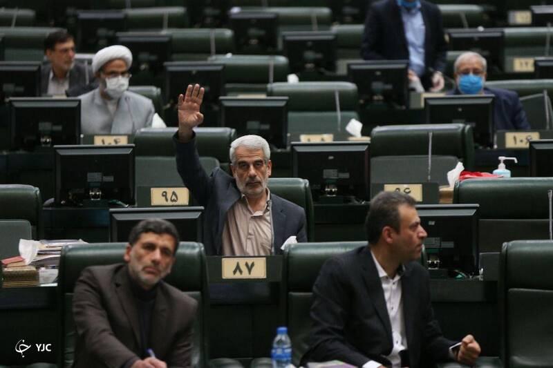 برگزاری جلسه کمیسیون تلفیق در صحن پارلمان/ تاجگردون بر صندلی ریاست مجلس نشست