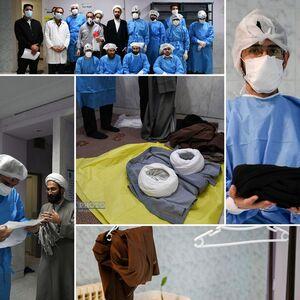 آماده شدن  400 طلاب جهادی جهت خدمت به بیماران کرونایی +عکس