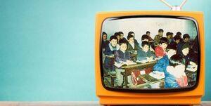 اولین مدرسه تلویزیونی در ایران کی راه افتاد؟