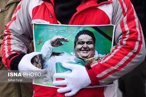 عکس/ مراسم تشییع و خاکسپاری سیامند رحمان