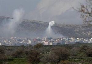 حمله موشکی رژیم صهیونیستی به منطقه «عینالتینه» سوریه