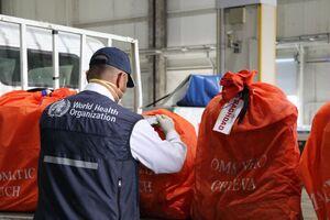 محموله سازمان بهداشت جهانی
