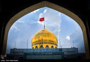 عکس/ عملیات بازسازی حرم مطهر حضرت زینب(س)