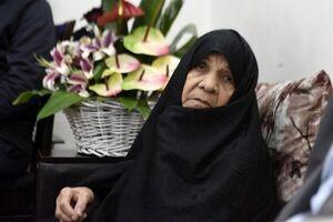 فیلم/ تشییع پیکر مادر گرامی شهیدان فهمیده