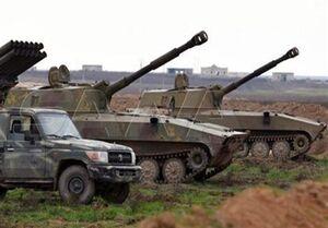 """جشن و شادی اهالی دمشق از پیروزی ارتش سوریه در """"سراقب"""""""