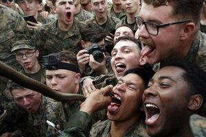انتشار ویدئویی از اقدام عجیب نظامیان آمریکایی در تایلند