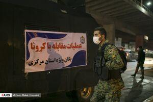 عکس/ ضدعفونی کوچه و خیابانهای اراک