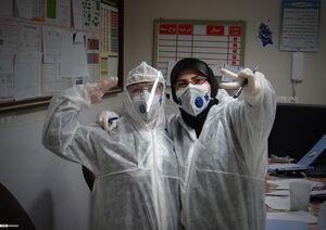 """عکس/ حالوهوای بخش قرنطینه در بیمارستان""""عشایر"""""""