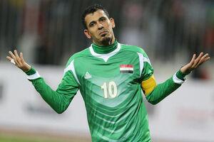 تست کرونا از اسطوره فوتبال عراق +عکس