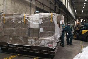 ارسال چهارمین محموله کمکهای چین از پکن به تهران