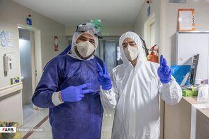 عکس/ مبارزه با کروناویروس در بیمارستان ارتش