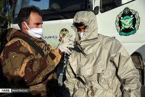 عکس/ رزمایش مشترک ارتش و سپاه علیه کرونا