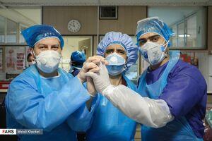 عکس/ بخش ویژه کرونا بیمارستان فیروزآبادی