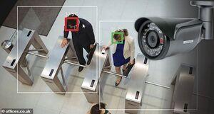 دوربین مدار بسته برای تعیین دمای بدن کارمندان +عکس